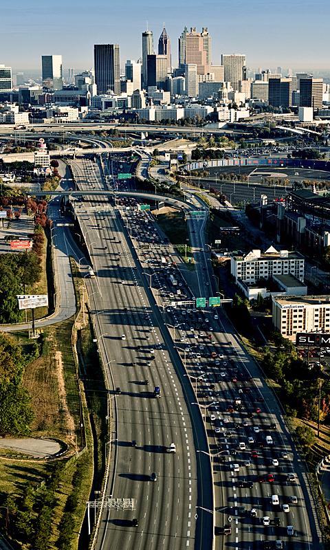 Atlanta Traffic inbound